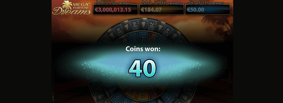 Mega Fortune Dreams hedelmäpeli